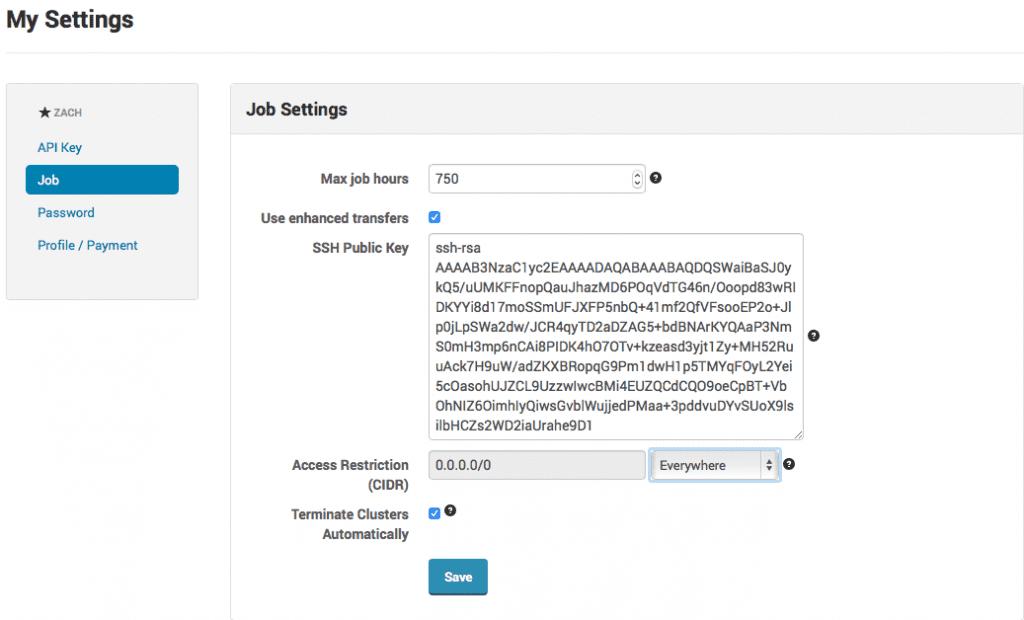 job-settings