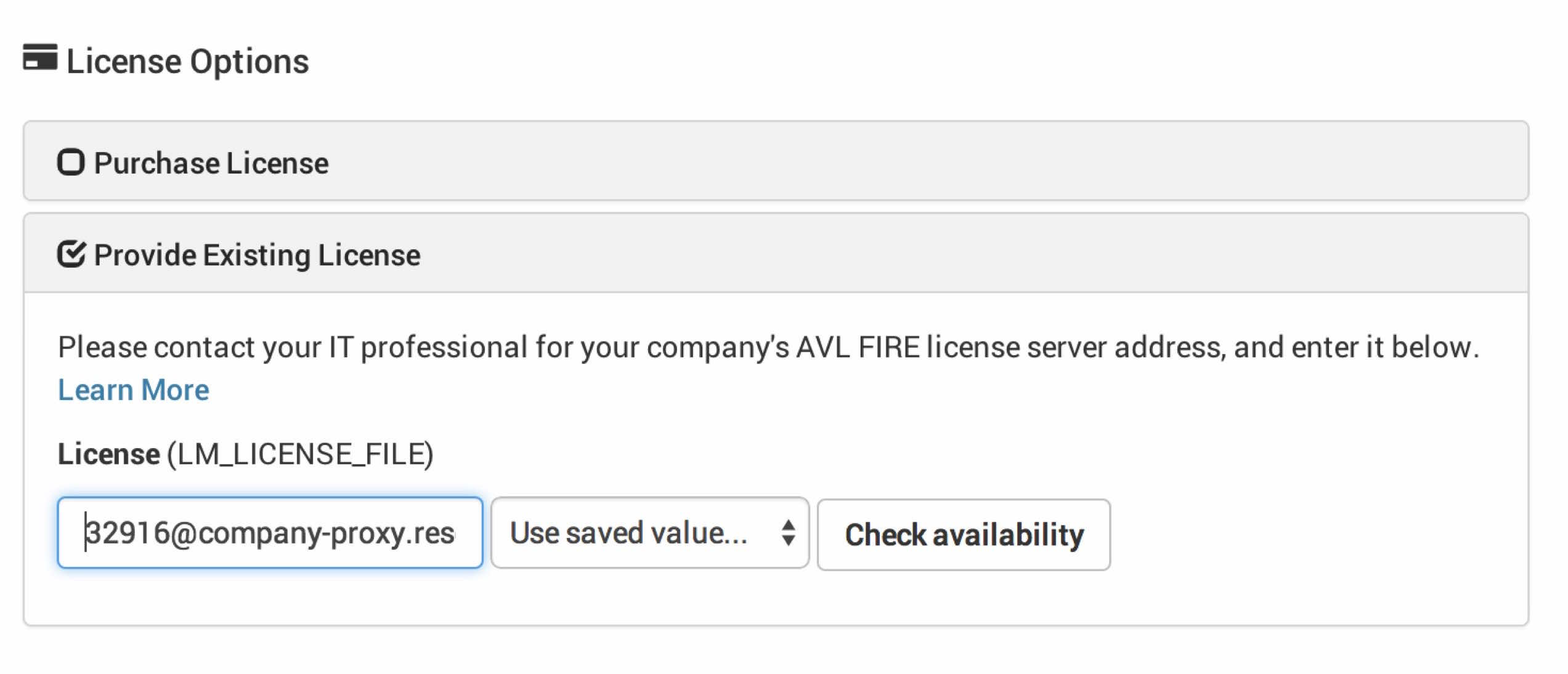 Accessing On-Premise Licence Servers - Rescale Resource Center