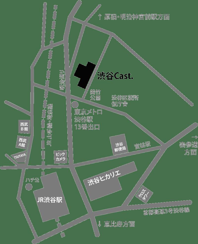Rescale Japanオフィス地図