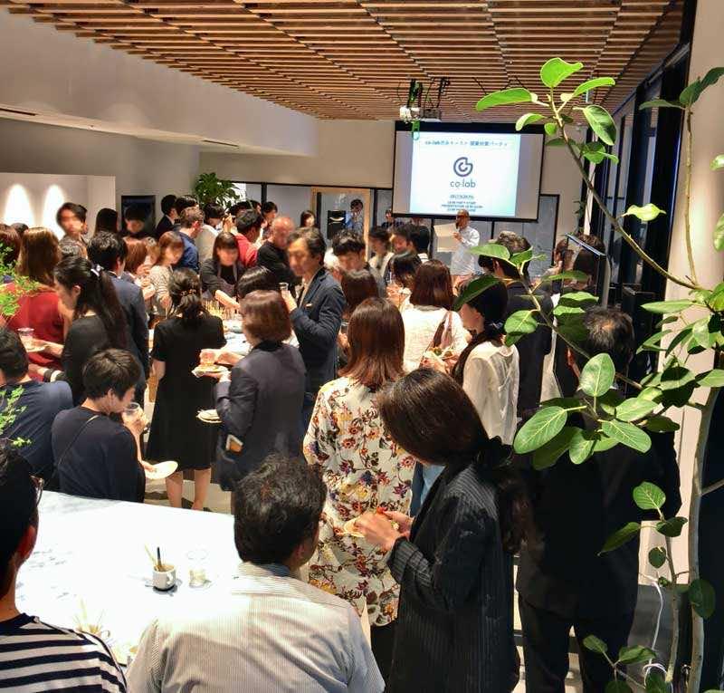 co-lab渋谷オフィスのオープニングパーティー
