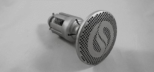 Optisys X-band Integrated Printed Antenna (X-IPA) SATCOM antenna feed