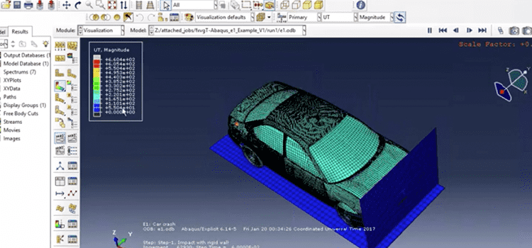 How to Run Abaqus Faster and Lower-Cost with Rescale